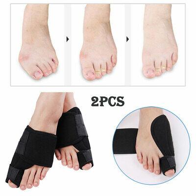 2pcs Toe Bunion Splint Straightener Corrector Hallux Valgus Gout Pain Foot Brace 6