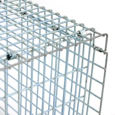 32'' Humane Live Animal Trap 1 Door Rodent Cage for Rabbits Cat Raccoon Squirrel 10