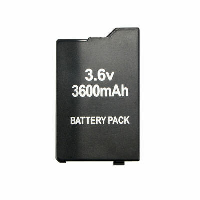 3600mAh Rechargeable Replacement Battery For Sony PSP Slim 2000 2001 2006 3000 10