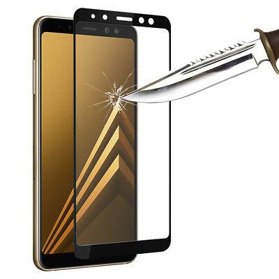 "Vitre De Protection Écran Film Verre Trempe Samsung Galaxy A8 (2018) A530F 5.6"" 3"