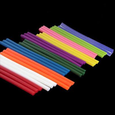 10pcs 12 Color Hot Melt Glue Stick Adhesive Sticks Kit Craft Attaching DIY Tool 3