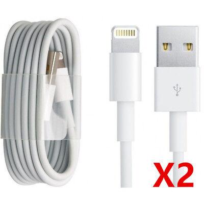 CABLE CHARGEUR USB 1 et 2 METRES IPHONE 6 6S 7 8 Plus XR X XS Max 11 Pro 5S SYNC 5