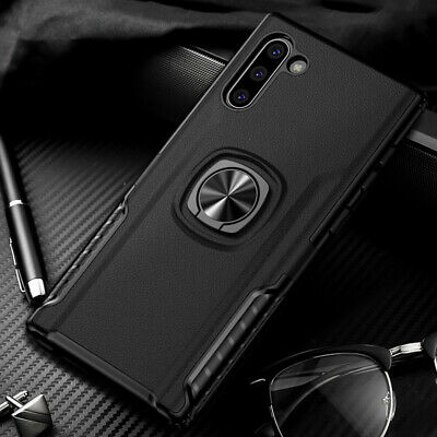 For Samsung Galaxy Note 10/Note 10 Plus Slim Hybrid Ring Stand Phone Case Cover 9