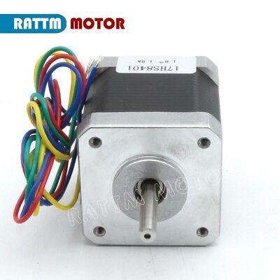 【EU Stock】10Pcs Nema17 Stepper Motor 78oz-in 48mm for Mill CNC Router/3D Printer 3