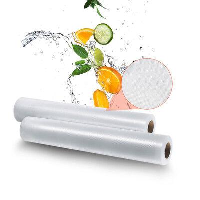 6 X 28Cm Vacuum Sealer Rolls Food Storage Saver Heat Seal Cryovac Commercial Bag 5