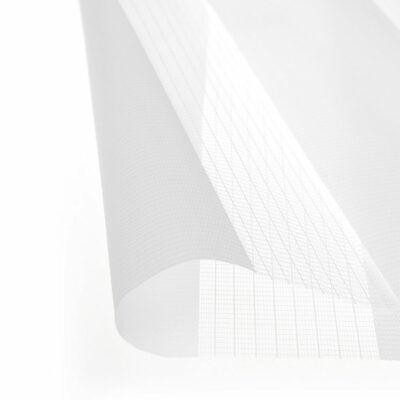Estor enrollable doble día y noche para ventanas y puertas blanco Victoria M 3