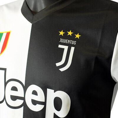 Juventus Maglia Tifoso 2019/20 Numero 7 Ronaldo CR7 Uomo / Bambino + Sacchetto 4