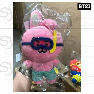 BTS BT21 Official Authentic Goods Von Voyage Summer Doll 15cm 5.9in + Tracking# 5