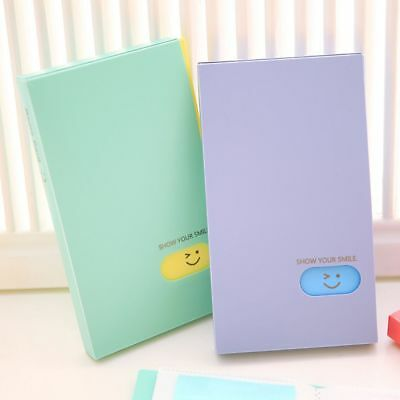120 Pockets Collection Photocard Book Lomo Card Holder Photo Album Card Stock 9