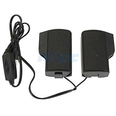 Hot Wall-mounted External Computer USB Speaker Stereo for Music Player Laptop PC 5