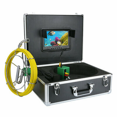 "9""LCD DVR 40M Waterproof Drain Pipe Sewer Inspection Camera System 8GB TF Card 5"