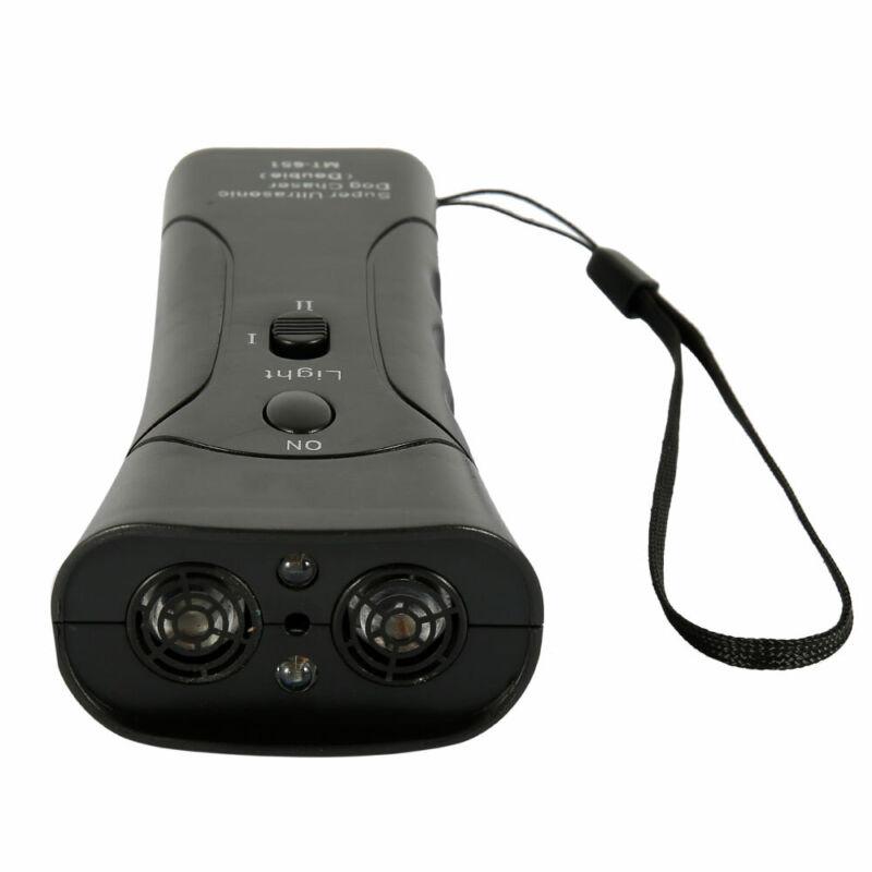 Pet Dog Ultrasonic Anti-Barking Trainer LED Light Gentle Chaser- Petgentle Style 11