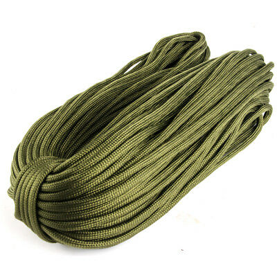 31/50/100M 550 Paracord Parachute Cord Lanyard Mil Spec Type III 7 Strand Core 4