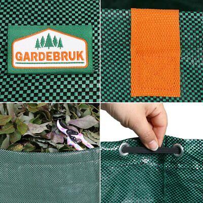 4x Sacs de jardin 500L 50 kg sac de déchets ordures tissu renforcé pliable 2