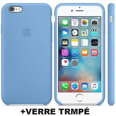 Cover Coque iPhone 6 7 8 Plus Xr Xs MAX X Slim Protection + Film Verre trempé 5