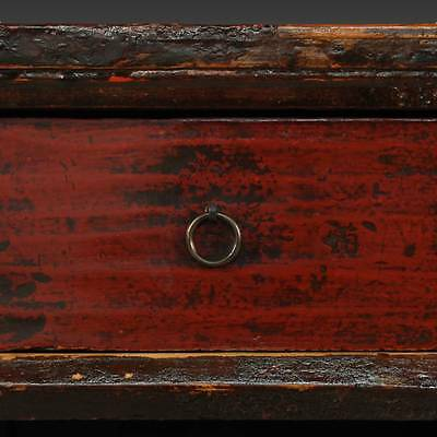 Antique Chinese Qing Opera Podium Table Elm Wood Furniture Hebei China 19Th C. 7