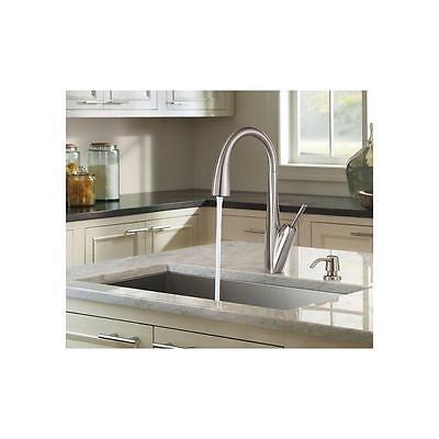 Pfister Kitchen Faucet Zuri Pull-Down W//soap GT529MPD Nickel Finish   EE3
