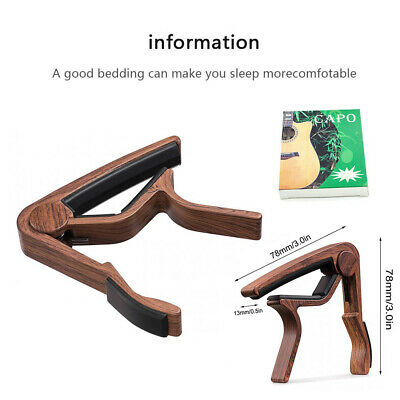 Guitar Capo Trigger Clamps For Acoustic Electric Classical Guitars Banjo Ukulele 5