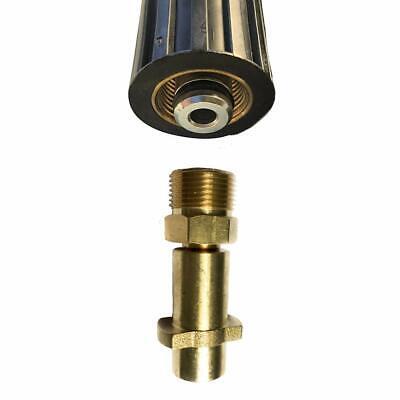 10m Rohrreinigungsschlauch 3-Teilig für Kärcher Workzone Aldi Hochdruckreiniger 3