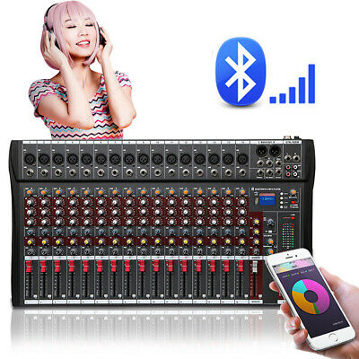 4000 Watt 16 Channel Professional Mixer power Sound mixing Console Audio Live DJ 2