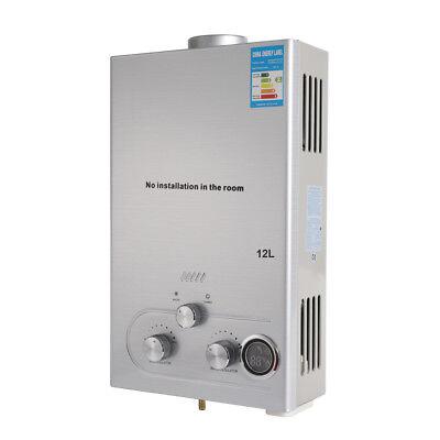 12L Durchlauferhitzer Warmwasserbereiter Boiler Natural Gas WarmwasserspeicherDE 7