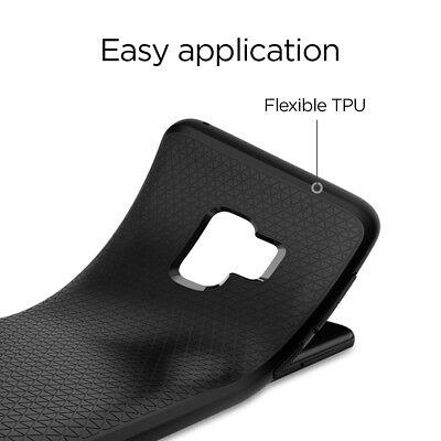 For Galaxy S9 / S9 Plus   Spigen® [Liquid Air] Slim Protective Case Cover 3