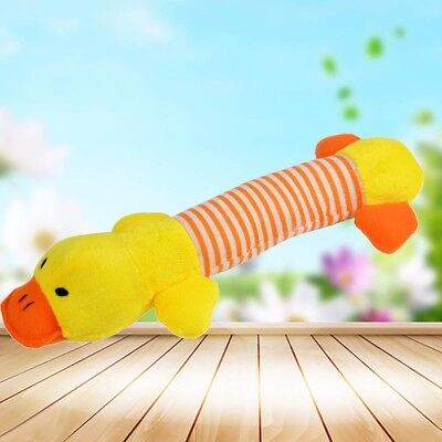 Pet Puppy Chew Squeaker Squeaky Plush Sound Pig Elephant Duck For Dog Toys 5
