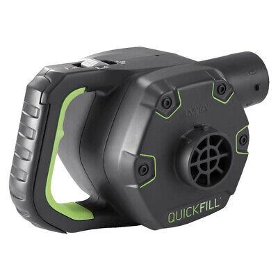 INTEX Quick Fill Elektrische Luftpumpe Aufladbar +Akku+ 12V + 230V mit 3 Adapter 2
