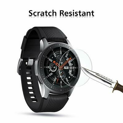 3xPACK Genuine Samsung Galaxy Watch 42/46mm 9H Tempered Glass Screen Protector 8