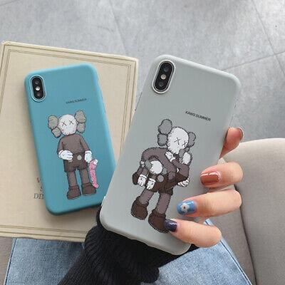 For iPhone Lot Fashion KAWS Pattern Shockproof Ultrathin Non-slip TPU Phone Case 3