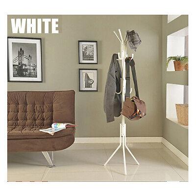 11 Hooks Coat Clothes Rack Umbrella Stand Tree Style Hanger Hooks Multi OZ STOCK