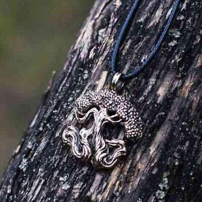 Men Nordic Viking Mjolnir Pendant Leather Cord Myth Thor's Hammer Norse Necklace 8