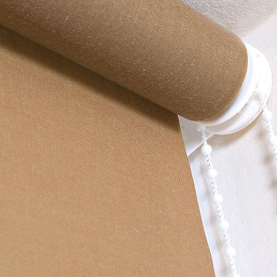 Plain Fabric Roller Blinds - Straight Edge Roller - Many Sizes 2