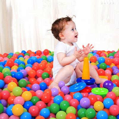 50-500PCS Plastic Pit Balls For Children Ball Kids Multi Coloured Toys Play Pool 9