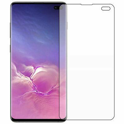 ScreenKnight Samsung Galaxy S10 PLUS (S10+) SCREEN PROTECTOR CURVED FIT 3