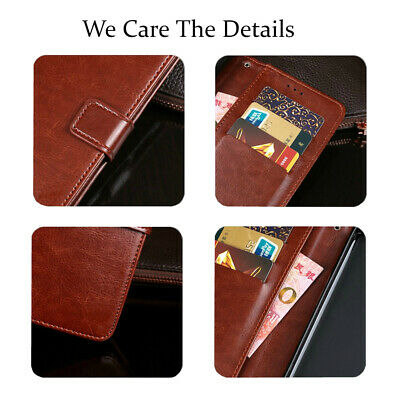 For Samsung Galaxy S9 S8 Plus S7 edge Wallet Leather Case Flip Card Cover 5