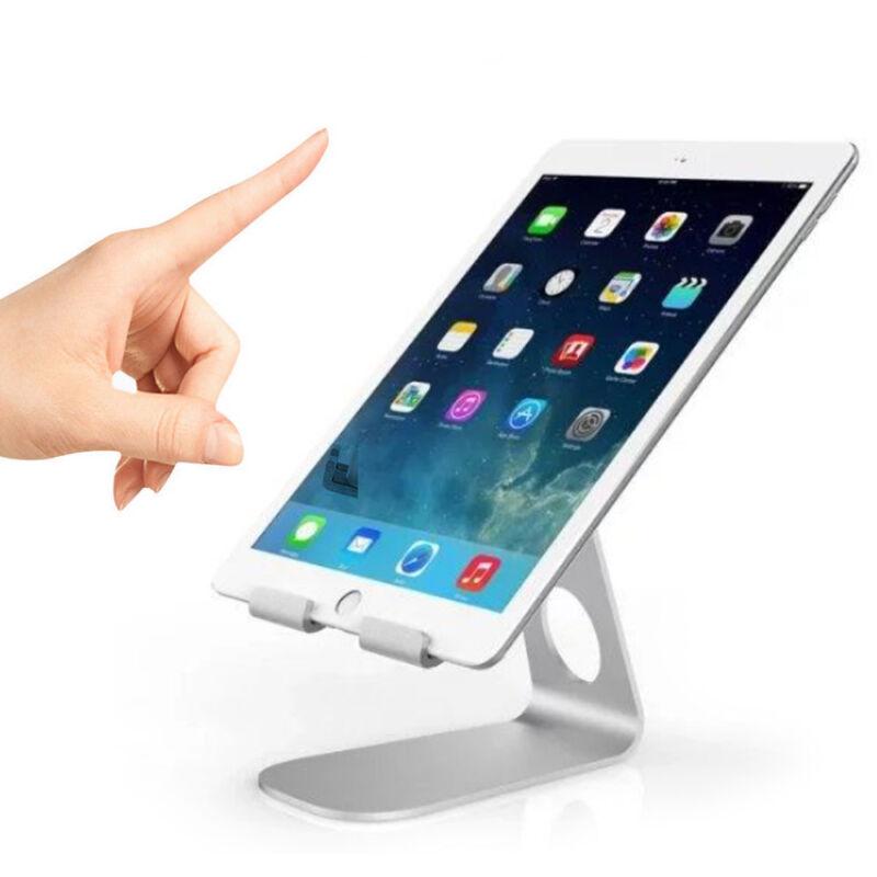 Universal Tablet iPad Ständer Winkel verstellbar für 7-13-Zoll-Tablet Silber 6