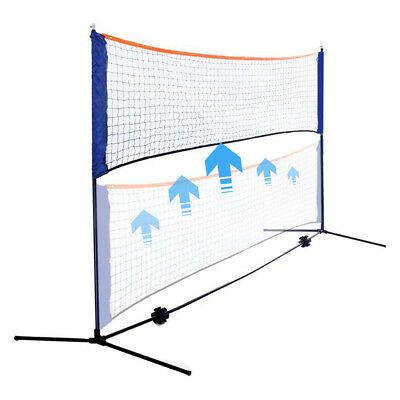 10 Feet Portable Badminton Volleyball Tennis Net Set with Stand/Frame Carry Bag 4