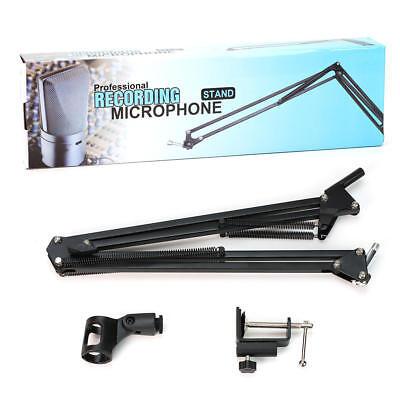 Mic Microphone Suspension Boom Scissor Arm Stand Holder for Studio Broadcast 5