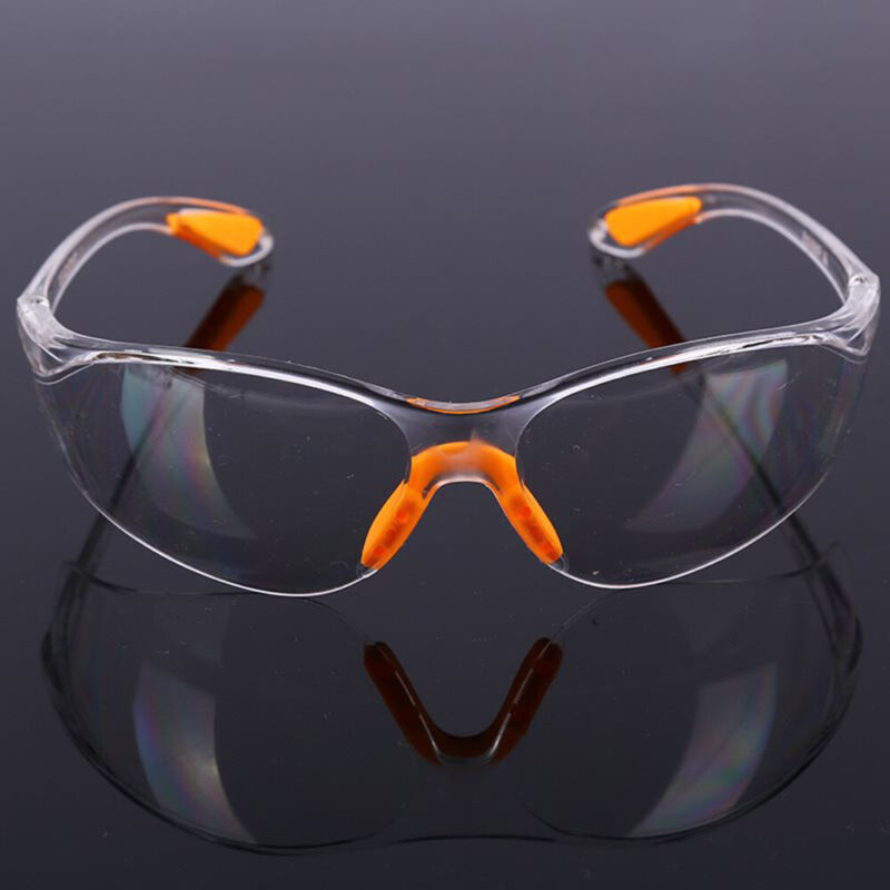 Eye Protective Glasses Clear Factory Anti-impact Goggles Safety Lab Outdoor Work 8