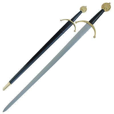 Templar Knights Medieval Sparring Longsword Blunted Display Sword Replica Cross