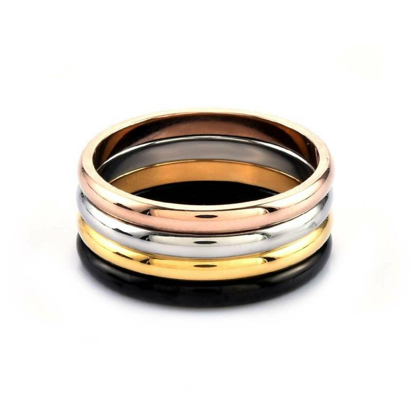 2mm Thin Stackable Ring Stainless Steel Plain Band for Women Girl Size 6-9 1PC 9
