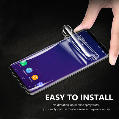 HYDROGEL AQUA Screen Protector Samsung Galaxy S10 5G S9 S8 Plus Note 8 9 S7 Edge 5