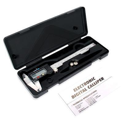 "Digital Electronic Gauge Plastic Vernier Caliper 150mm 6"" Micrometer Hot"