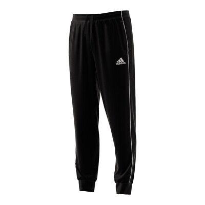 Adidas Core 18 Mens Fleece Tracksuit Jogging Bottoms Joggers Black Navy Grey 2
