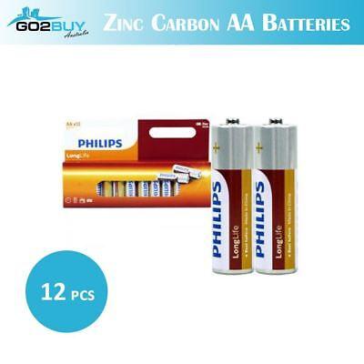 GENUINE TOSHIBA Zinc Carbon AA AAA Battery Super Long Lift Batteries 6