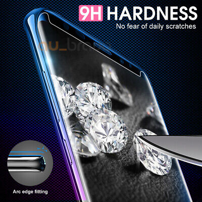 6D Samsung Galaxy S9 S8 Plus Note 9 8 Full Cover Tempered Glass Screen Protector 5