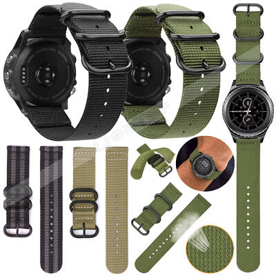 Armband für Garmin Fenix 3/Fenix 3 HR/Fenix 5 5X Plus Smart Watch Nylon/Silicone 4