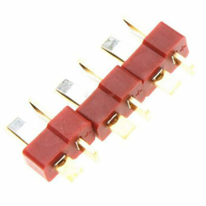 Ultra T Connectors Plug Deans Style For RC LiPo Battery 10 Pairs Male/Female 5