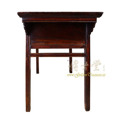 Chinese Antique Carved Zhejiang Writing Desk/Console Table 17LP12 8